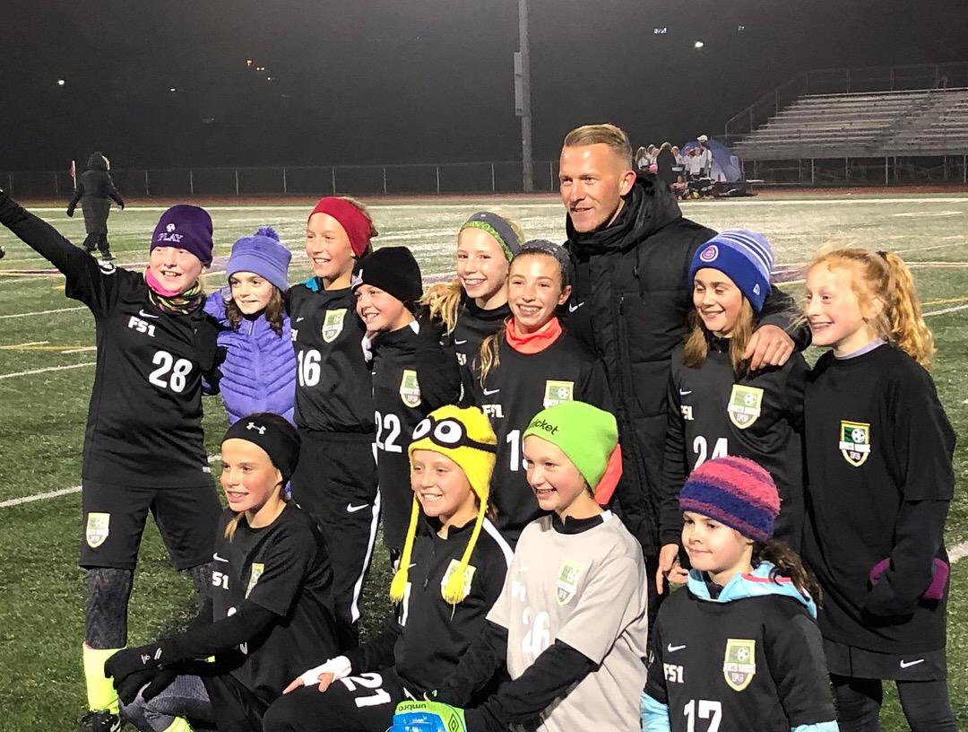 U12 Girls Fall Division Champions