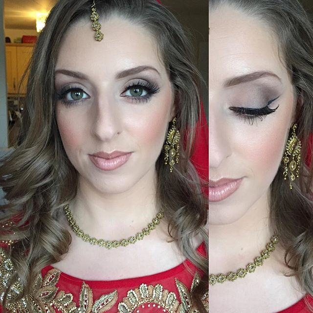Asian wedding 😍🎨 Such a babe #makeupbyme_Hair by _loukashair