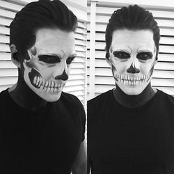 Scary dude #Halloween 👻