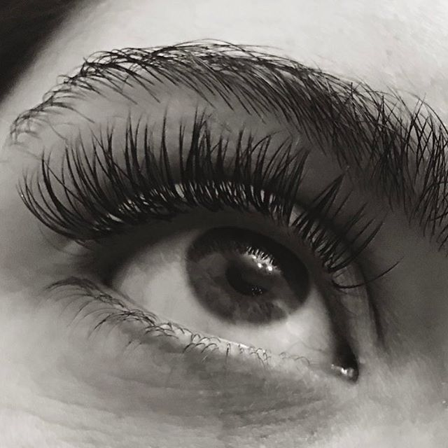Individual eyelash extensions using Mink Lashes by _lash_perfect