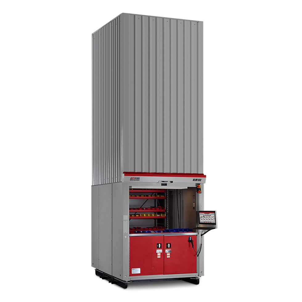 The first vertical lift module that has the capability and user friendliness to be called a vending machine.