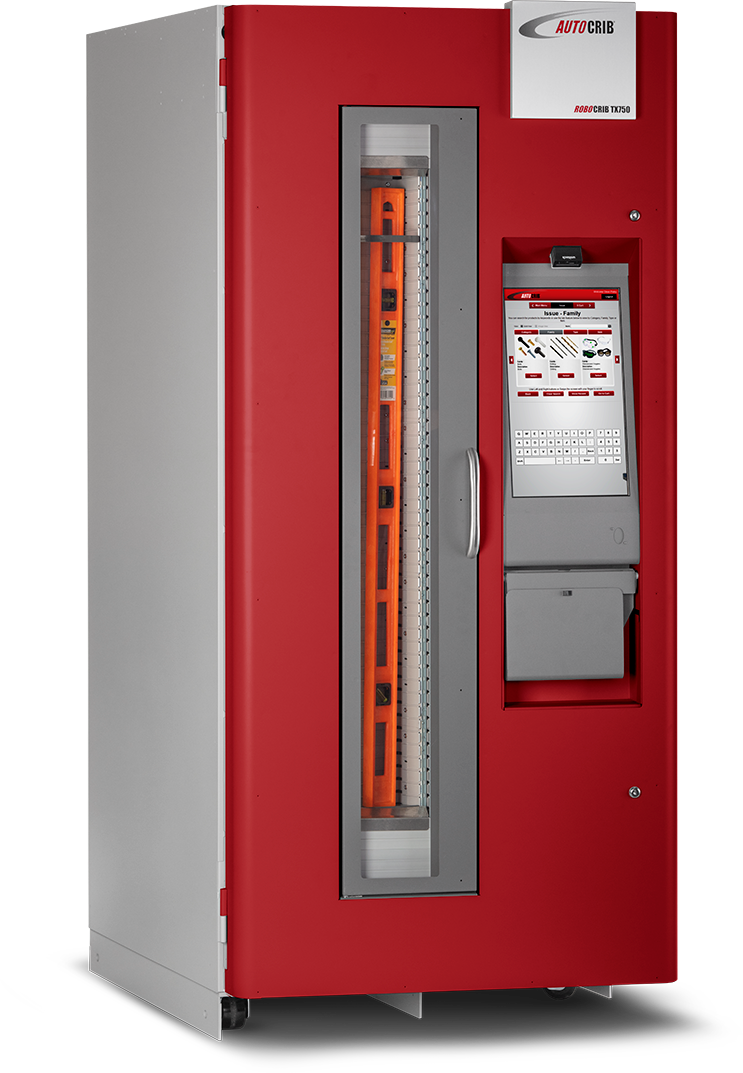 A powerful inventory management tool in a flexible vending machine format.