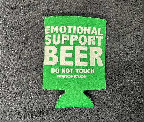 Emotional Support Beer-Green