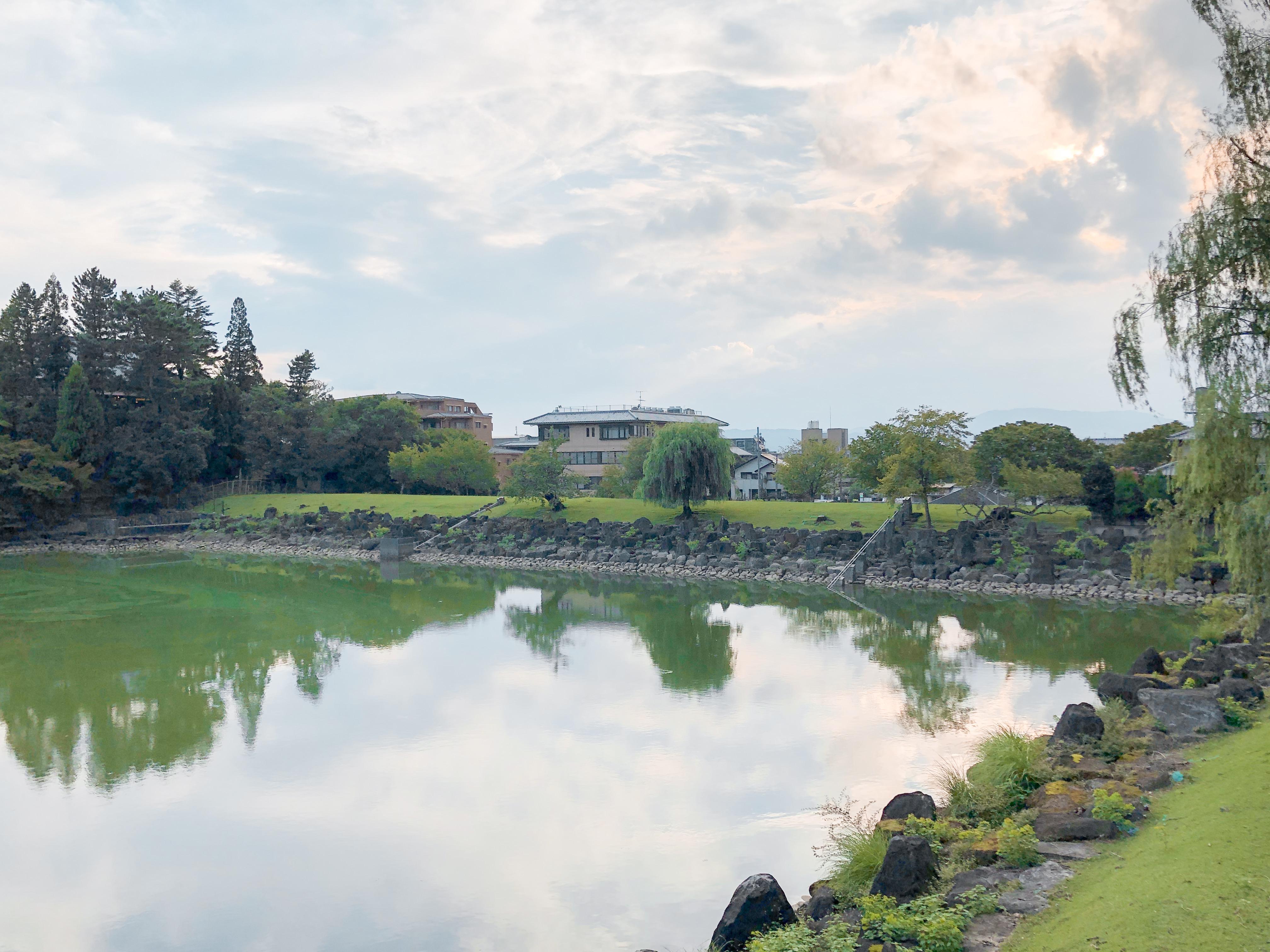 奈良でのどこかで