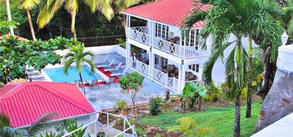 Shingle Beach Villa St Lucia