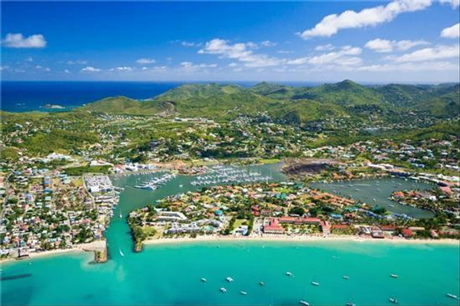 Property with mooring St Lucia