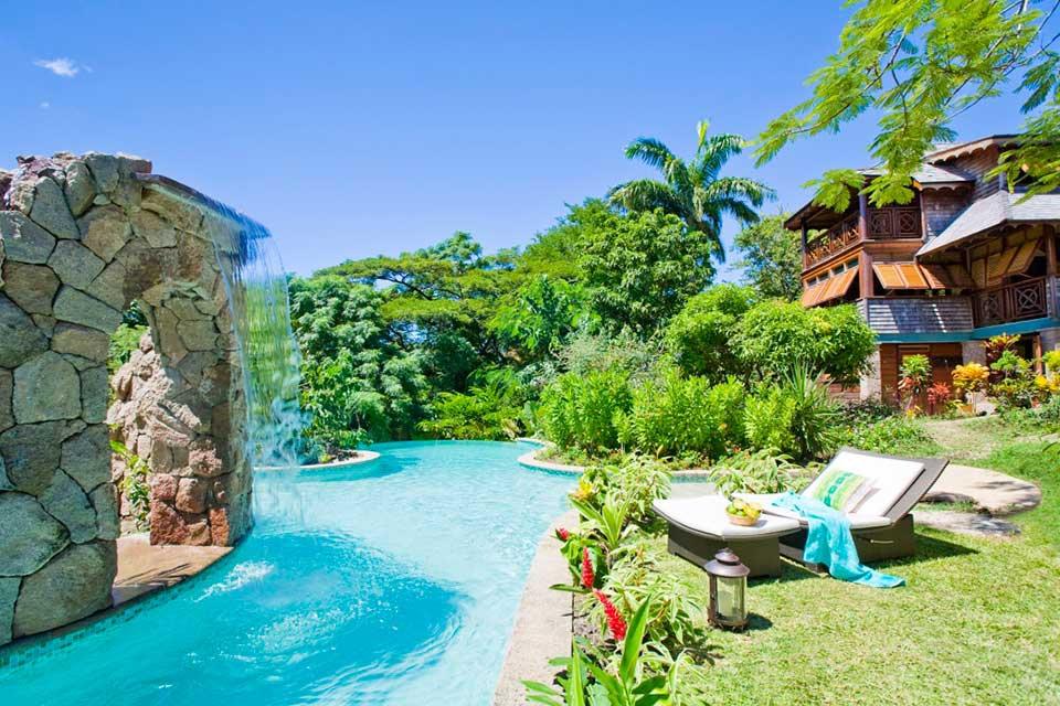 Waterfall Villa St Lucia