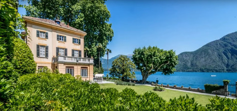 Lake Como Mansion For Sale