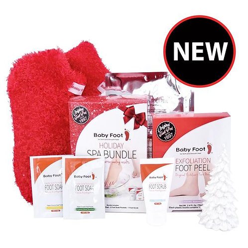 Baby Foot Holiday Spa Bundle