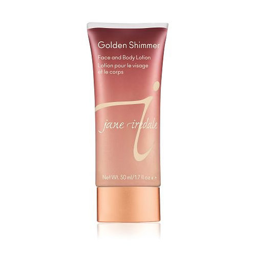 Golden Shimmer Face and Body Lotion