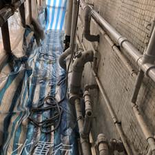 更換外牆去水渠工程