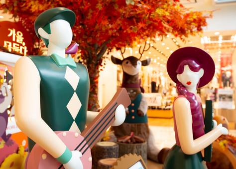 Lotte World Mall Autumn