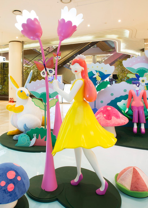 Lotte World Mall Spring