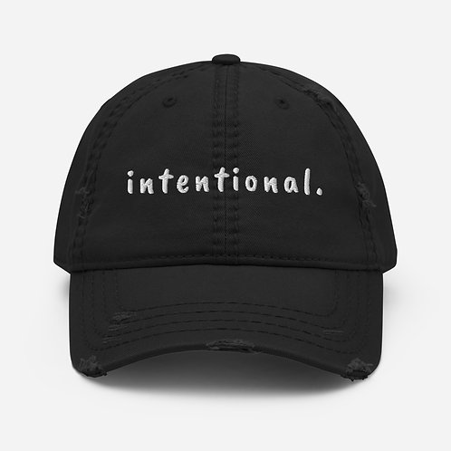 Intentional. Hat