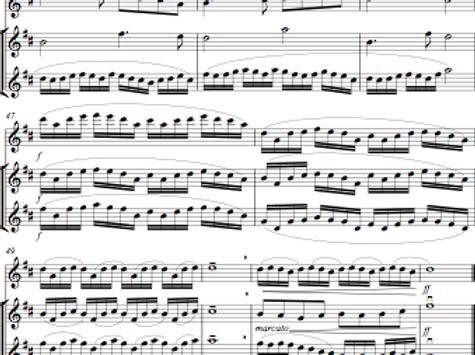 Arranging service for 2 or 3 instruments