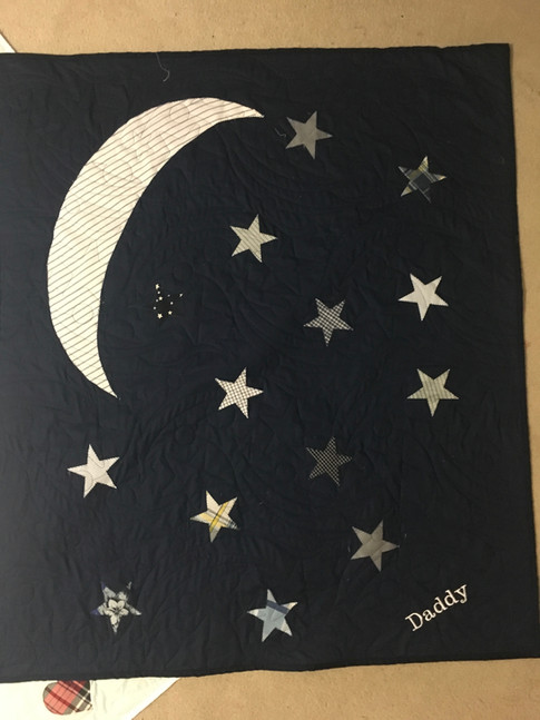 Custom Stars and Moons Quilt