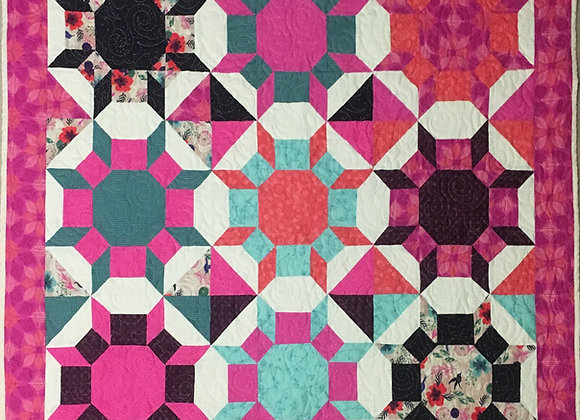 Wallhanging or Lap Quilt