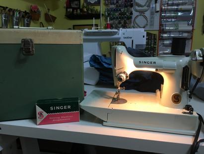 A Treasured Vintage Sewing Machine
