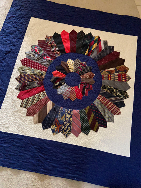Tie Quilt - Custom Job