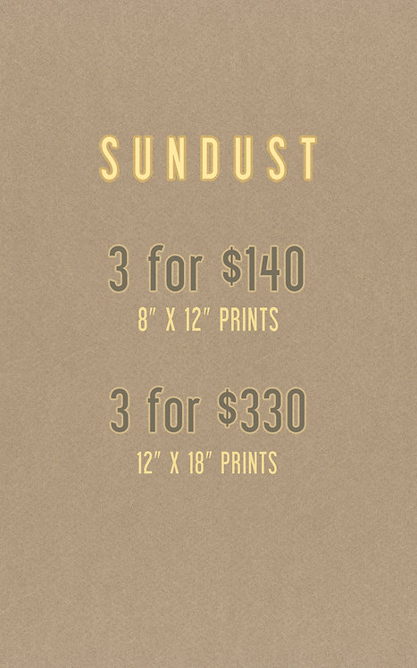 Choose any 3 Sundust