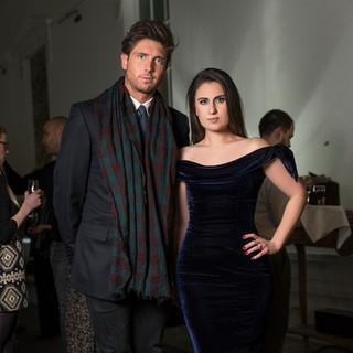 Ollie Chambers & Francesca Barrow