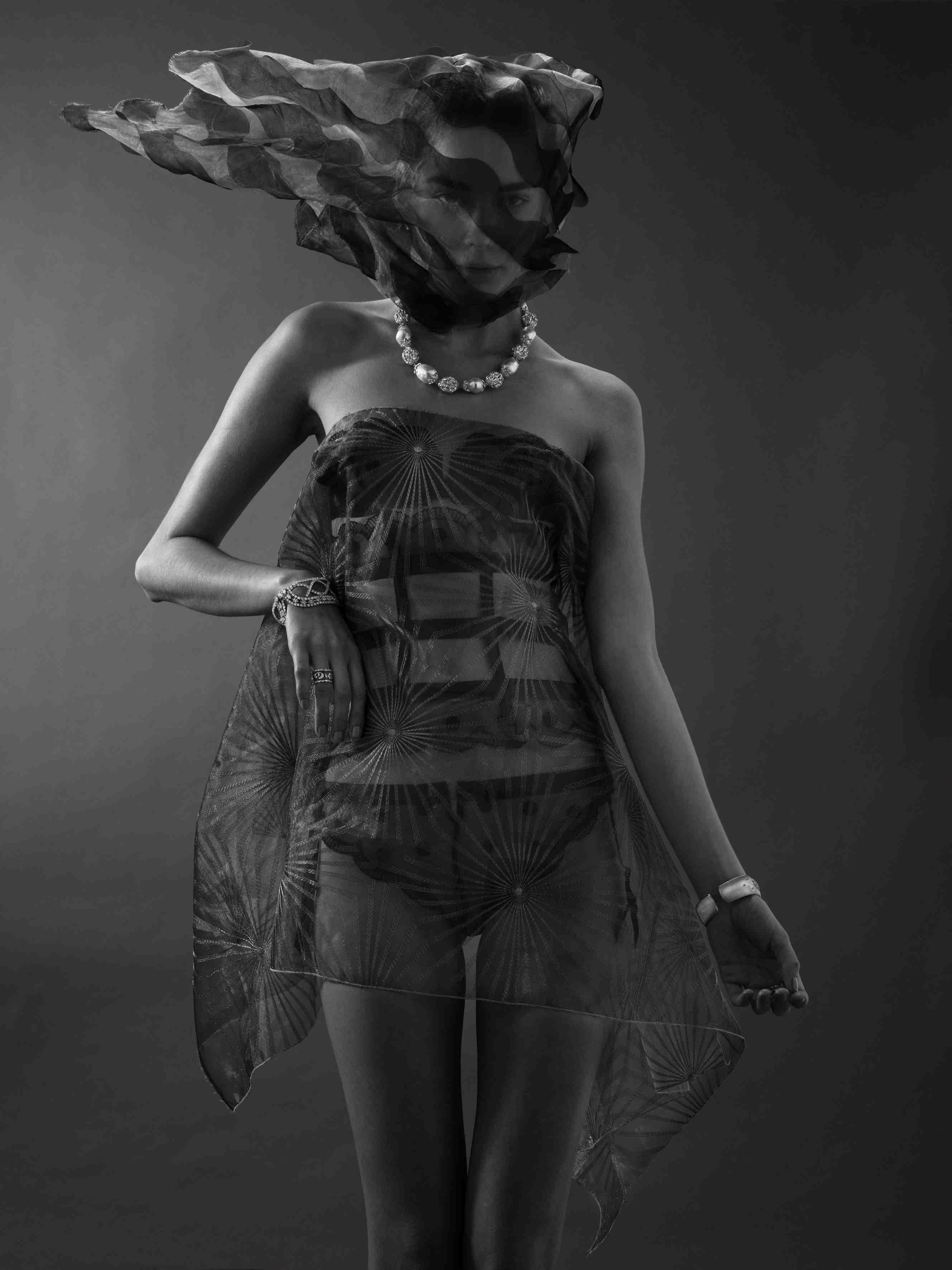 The Veil shoot by Francesca Barrow