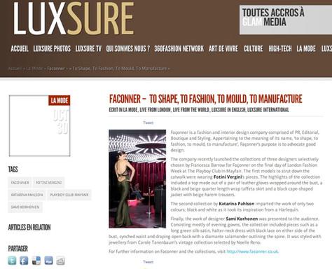 Luxsure Magazine