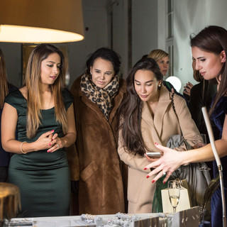 Priyanka Kedia, Diana Lascelles, Lucy Lascelles & Francesca Barrow
