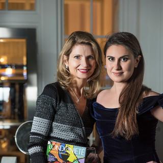 Aiste Daubaras & Francesca Barrow