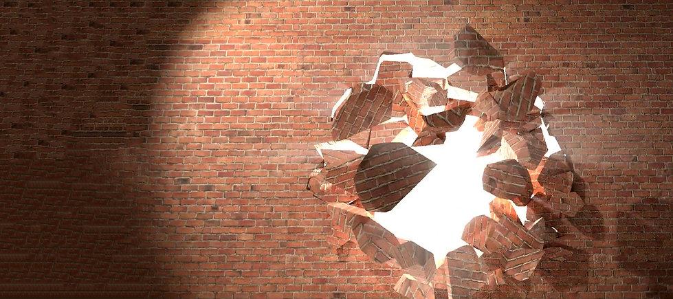 brick-wall-break-through-demolish-smash-
