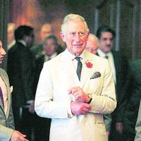 HRH Prince Charles visits the Serum Institute of India