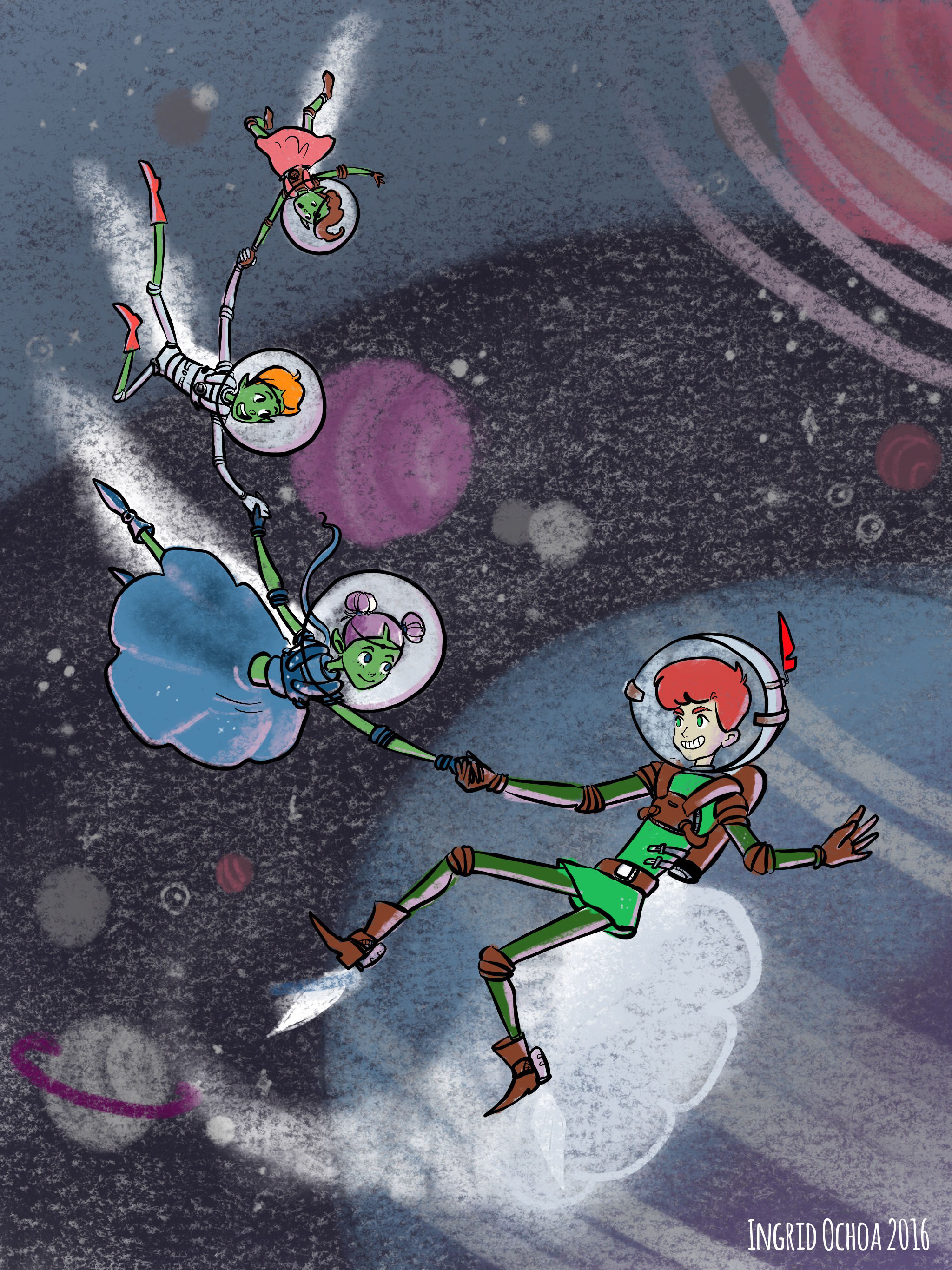 Peter Pan in Space