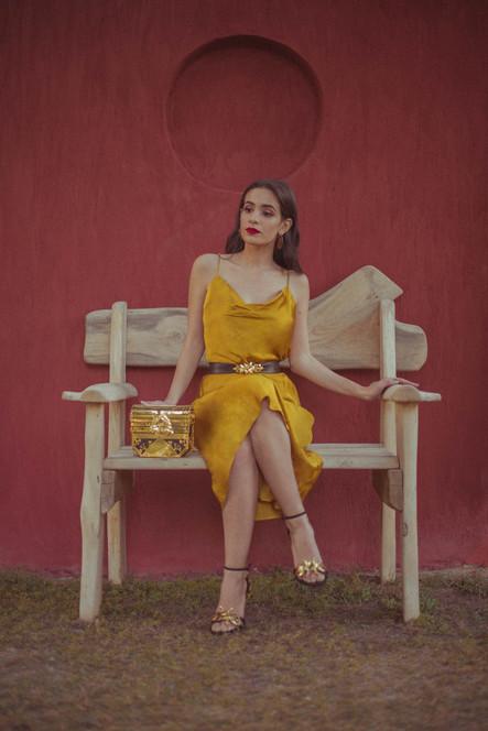 Gold Palma Treasure, Palma Heels, Palma Belt