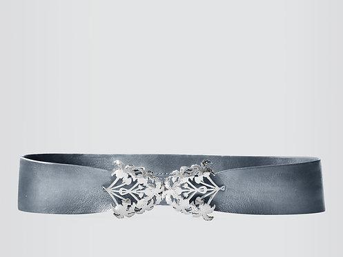 Liz Taylor Botanic Belt Silver