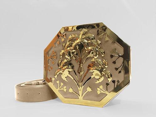 Sadaf Octapalm Interchangeable Bag Gold