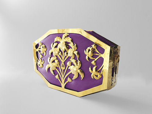 AMETHYST PALMAGON GOLD