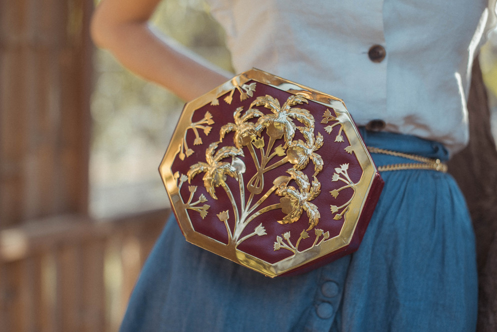 Gold Ritual Octapalm Interchangeable Bag
