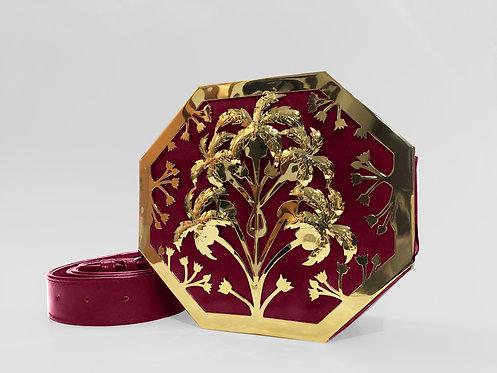Petunia Octapalm Interchangeable Bag Gold