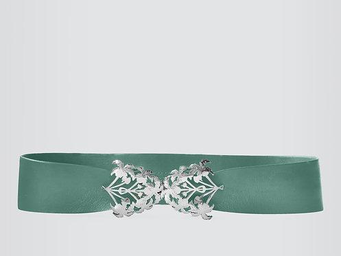 Nile Botanic Belt Silver