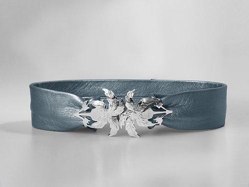 Liz Taylor Palma Belt Silver