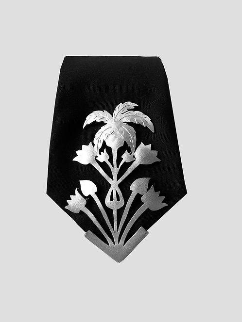Tropico Tie - Silver