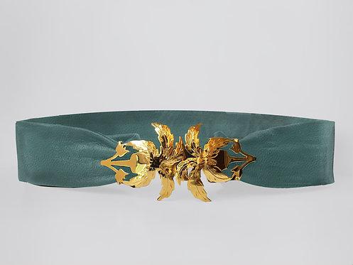Nile Palma Belt Gold