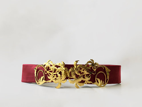 Petunia JASMINE Belt Gold