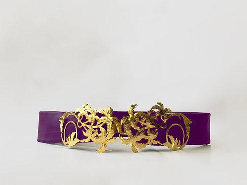 Amethyst JASMINE Belt Gold