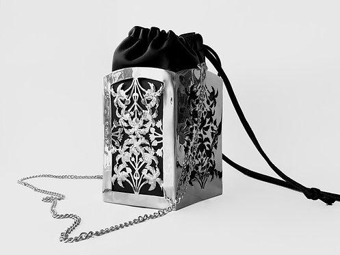 PentaPalm Bucket Bag Silver