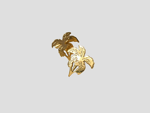 PALMA CUFFLINKS - GOLD