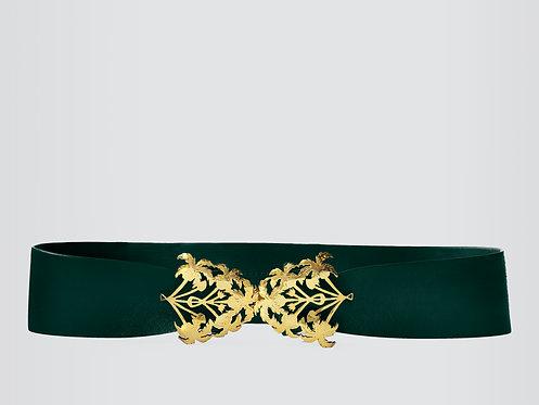 Emerald Botanic Belt Gold