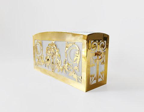 Angelica Cleo Clutch Gold