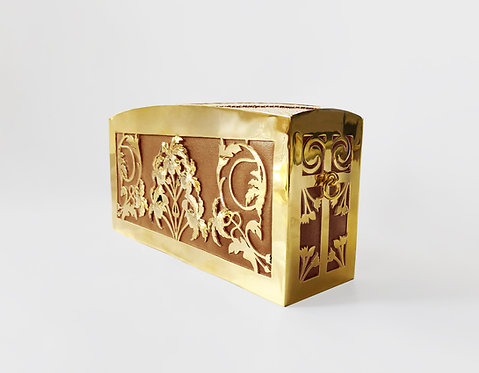 Horus Cleo Clutch Gold