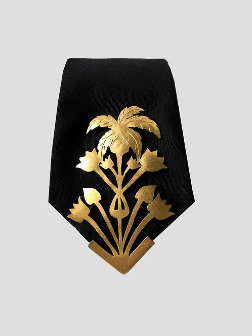 Tropico Tie - Gold